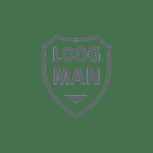 Loogman logo-grijs